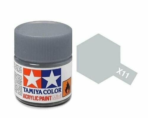 Tamiya; Tam X-11 Gloss-Chrome Silver