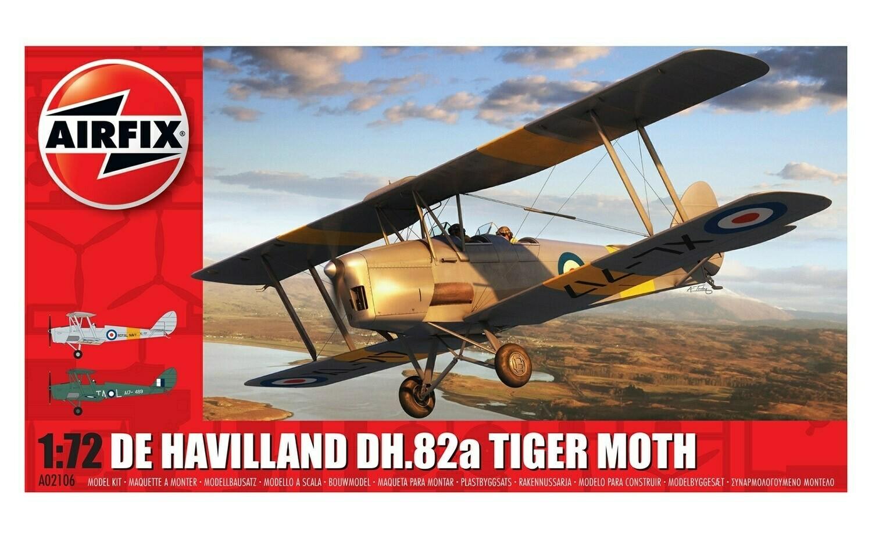 Airfix; Dehavill and Tiger Moth (1/72)