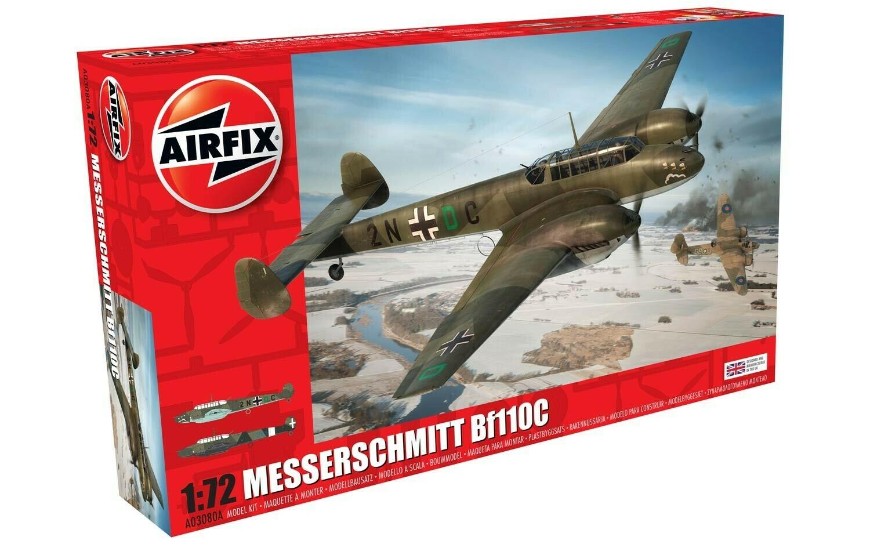 Airfix MesserSchmitt Bf110 C/D (1/72)