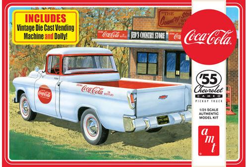 Amt; 1955 Chevy Cameo Pickup - Coca Cola (1/25)