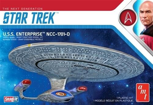 Snapit; Star Trek Ussenterprise-D Snap (1/2500)
