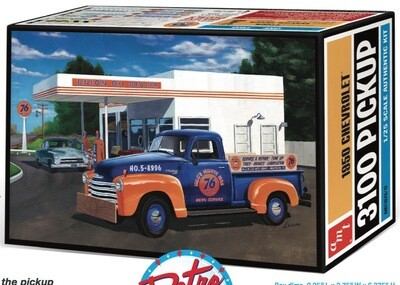 Amt; 1950 Chevy Pickup Union 76 (1/25)