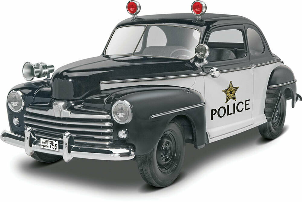 Revell; 48 Ford Police Coupe 2n1 (1/25)