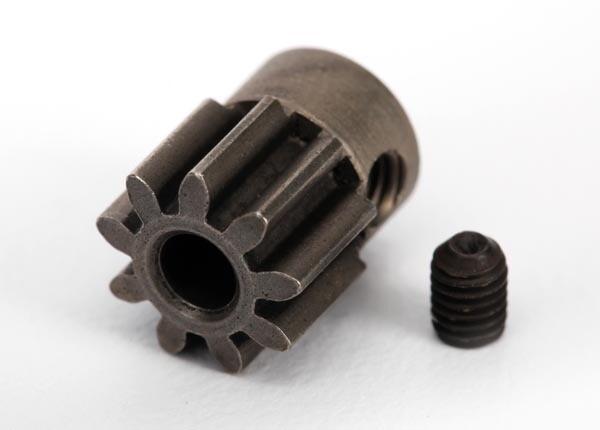 Traxxas; 32P Pinion Gear 9T, Steel: Stampede 4X4
