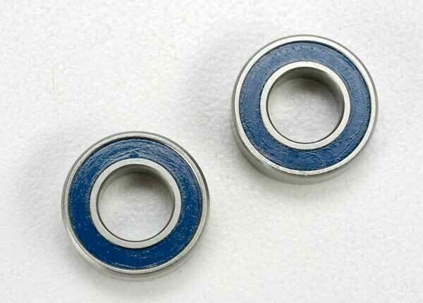 Traxxas; Ball Bearing, Blue Rubber Sealed (6X12X4Mm)