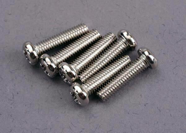 Traxxas; 3X12Mm Button Head Machine Screw