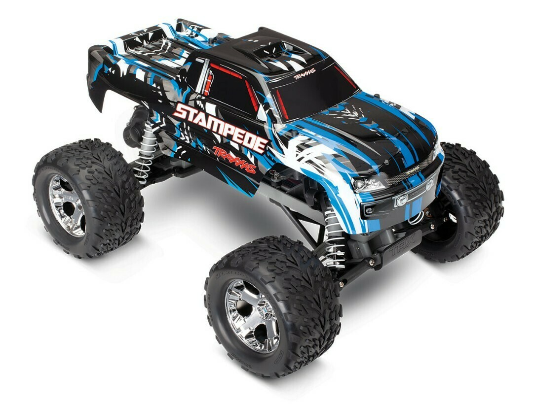 Traxxas; Stampede 1/10 2wd XL-5 BlueX DC Charger