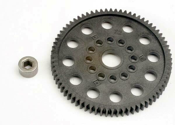Traxxas; Spur gear (72-Tooth) (32-pitch) w/bushing