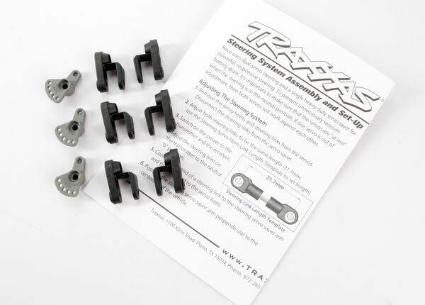 Traxxas; Revo Servo Horns Steering & Throttle (Non-Traxxas Servos)
