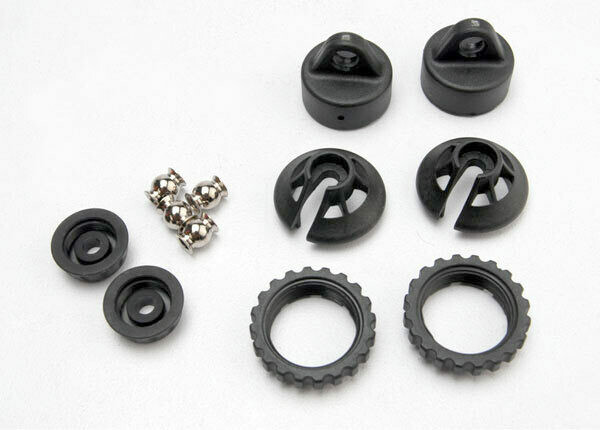Traxxas; Gtr Shock Caps And Spring Retainers