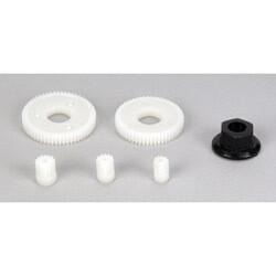 Losi; Ring & Pinion Gear Set: Micro Sct, Rally, Truggy
