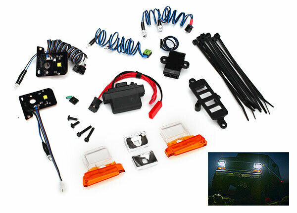 Traxxas; Bronco Led Light Set, Complete With Power Supply (Contains