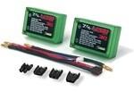 Venom; 4200Mah 2S 7.4V 30C Lipo Uni Plug Hard Case Saddle Pack 69X46.2X23Mm - Discontinued