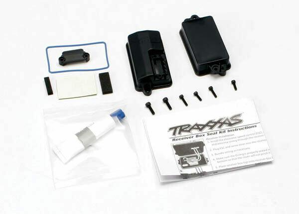Traxxas; Sealed Receiver Box Kit