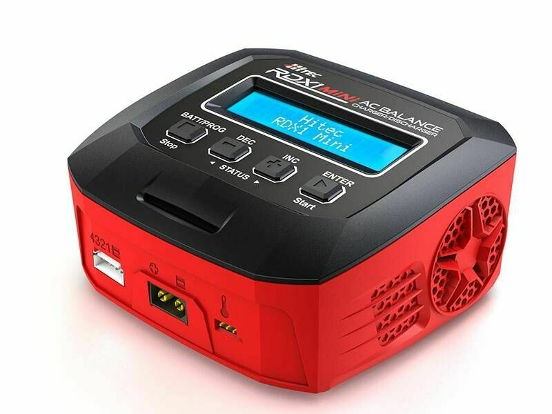 HiTec; RDX1 Mini 65 Watt Single Port AC Charger
