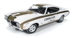 """AutoWorld; Diecast 1/18 1969 Hurst/Olds 455 """"Commotion By Motion"""""""