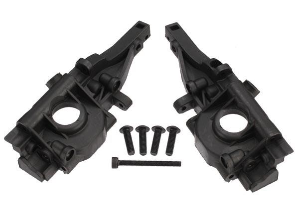 Traxxas; Rear Bulkhead w/Hardware (Left & Right Halves)