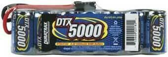 DTX; Nimh 8.4 5000Mah  Flat Pack Trx Plug