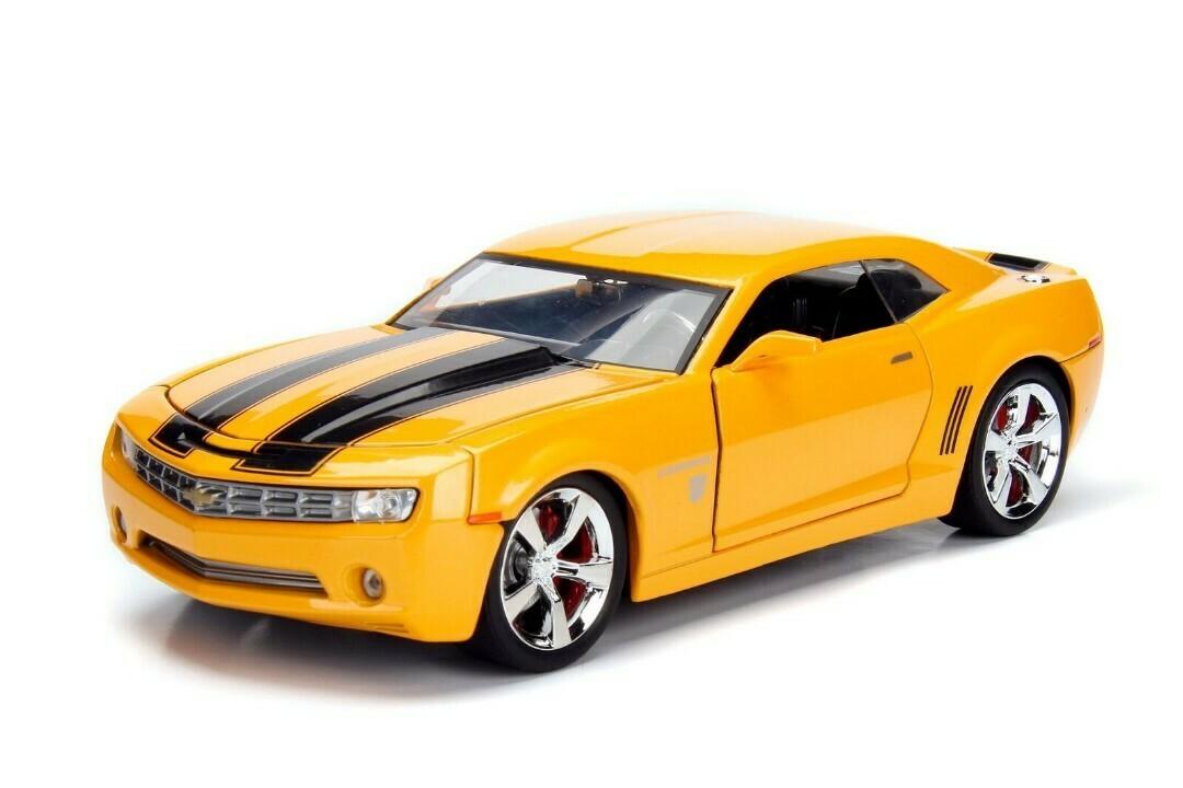 "Jada; 1/24 ""Hollywood Rides"" 2006 Chevy Camaro Concept - Bumblebee"