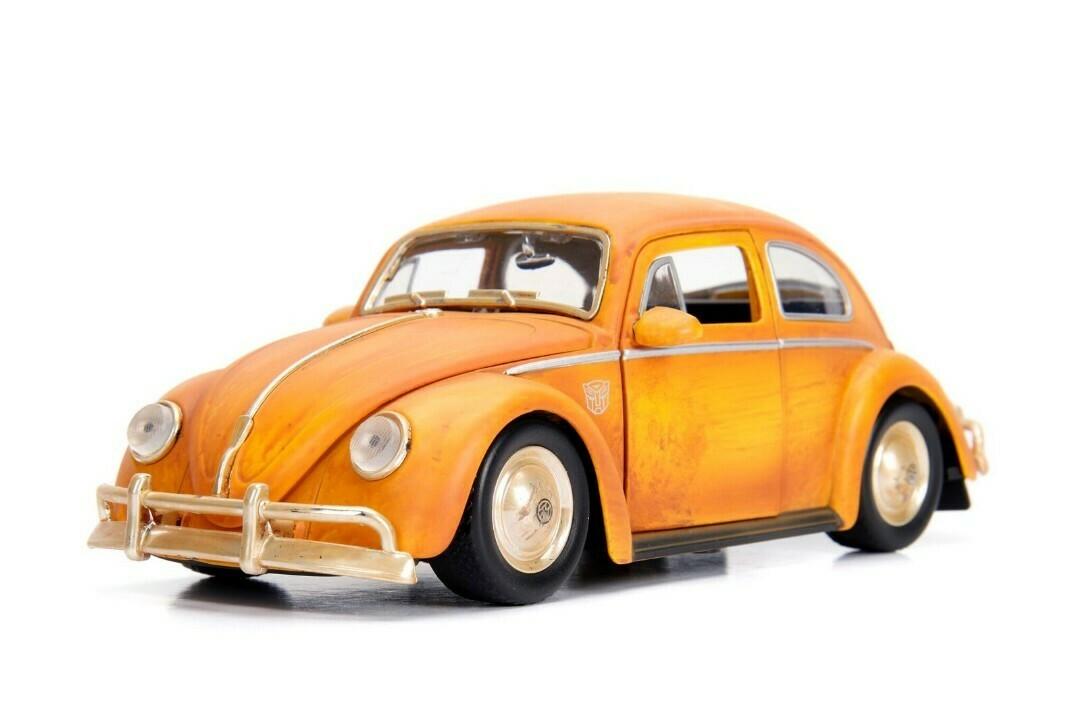 "Jada; 1/24 ""Hollywood Rides"" Vw Beetle - Bumblebee W Charlie"