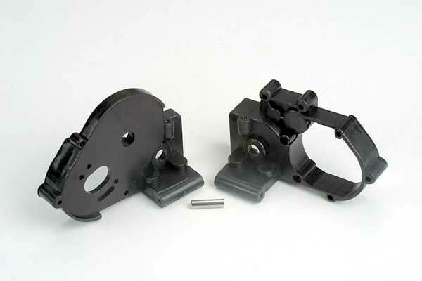 Traxxas; Gearbox Halves W/Idler Shaft