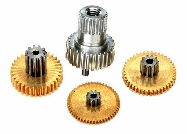 Traxxas; Gear Set, Metal (For 2080X Micro Waterproof Servo)
