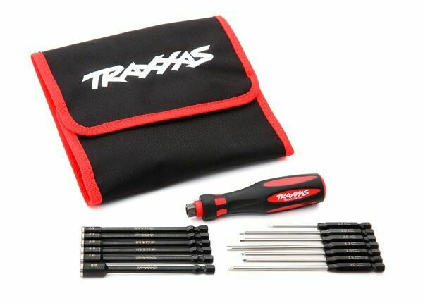 Traxxas; Speed Bit Master Set, hex and nut driver, 13-piece, includes premium handle (medium)