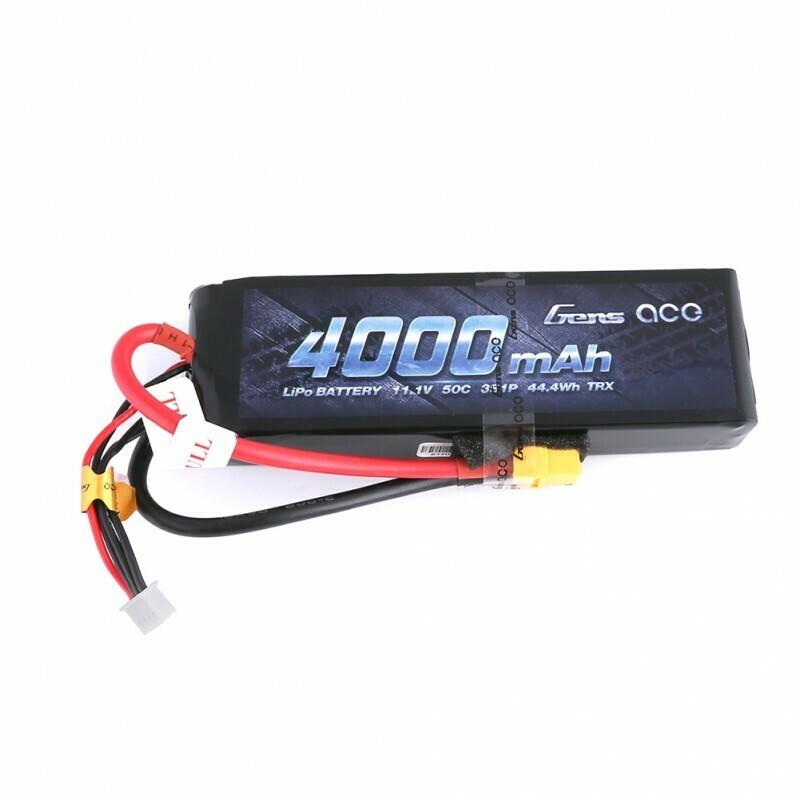 Gens; Ace - 266 - 4000Mah 3S1P 11.1V 50C Lipo Xt60 Plug Soft Ca