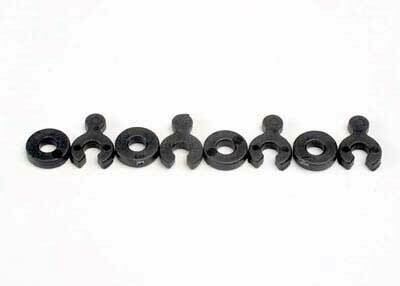 Traxxas; 5134 Caster Spacers W/Shims(4)