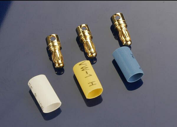 Traxxas; 3.5Mm Bullet Connectors (Male) (3) (Vxl)