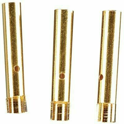 Electrifly; 2Mm  Gold Platted Bullet Connectors