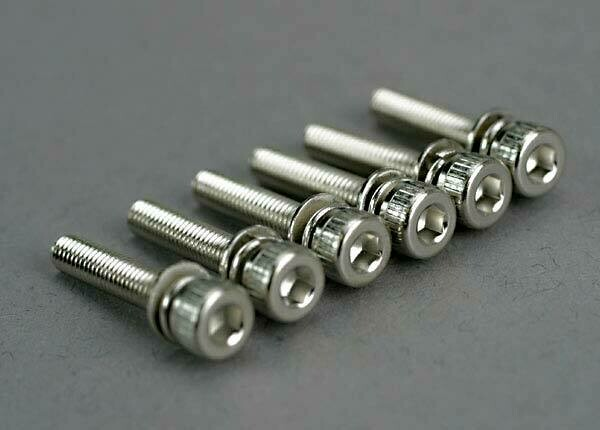 Traxxas; 3X15Mm Cap Head Screws