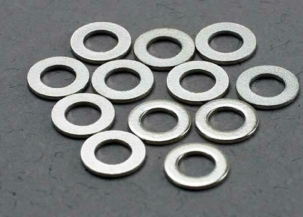 Traxxas; 3X6Mm Metal Washers
