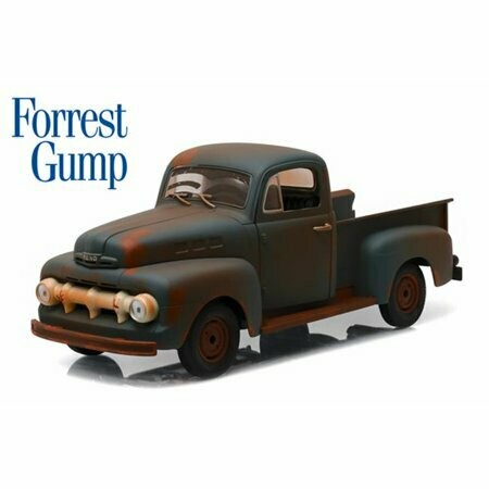 Greenlight; 1/18 Forrest Gump (1994) - 1951 Ford F-1 Truck Run, Forrest, Run!