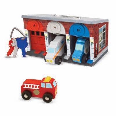 Melissa And Doug; Keys & Cars Rescue Garage