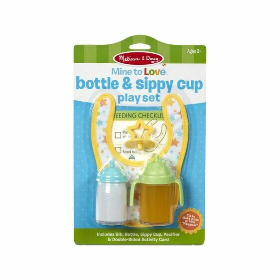Melissa And Doug; Bottle & Sippy Cup Play Set