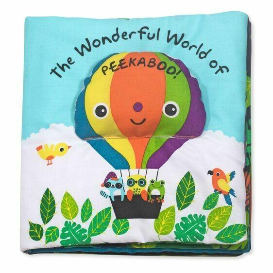 Melissa And Doug; The Wonderful World Of Peekaboo
