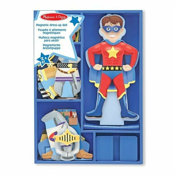 Melissa And Doug; Billy Magnetic Wooden Dress-Up Doll