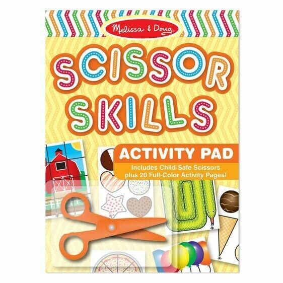 Melissa And Doug; Scissor Skills Activity Pad