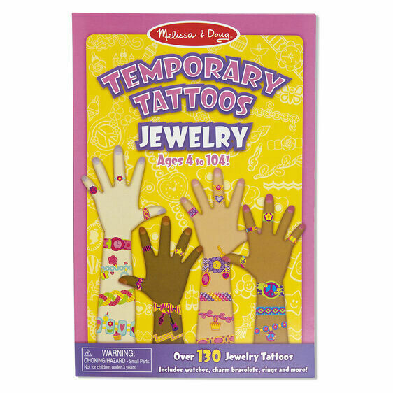 Melissa And Doug; Temporary Tattoos - Jewelry