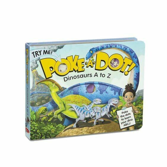 Melissa And Doug; Poke-A-Dot: Dinosaurs A To Z