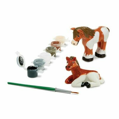 Melissa And Doug; Horses Figurines