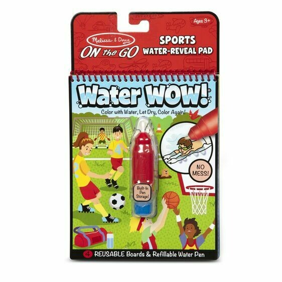 Melissa And Doug; Water Wow - Sports Water Reveal Pad