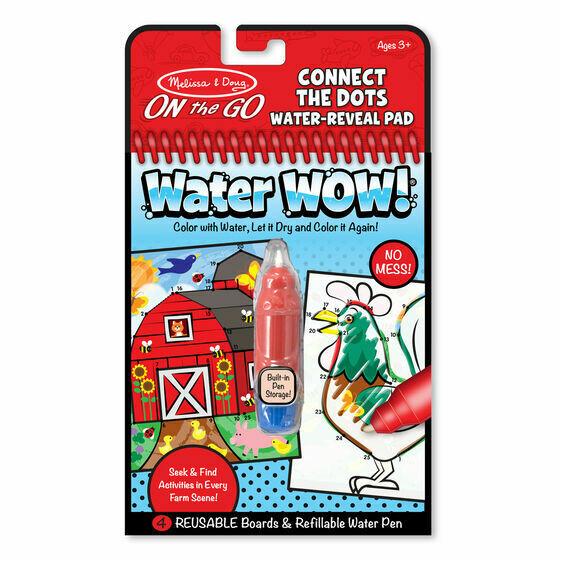 Melissa And Doug; Water Wow! - Connect The Dots