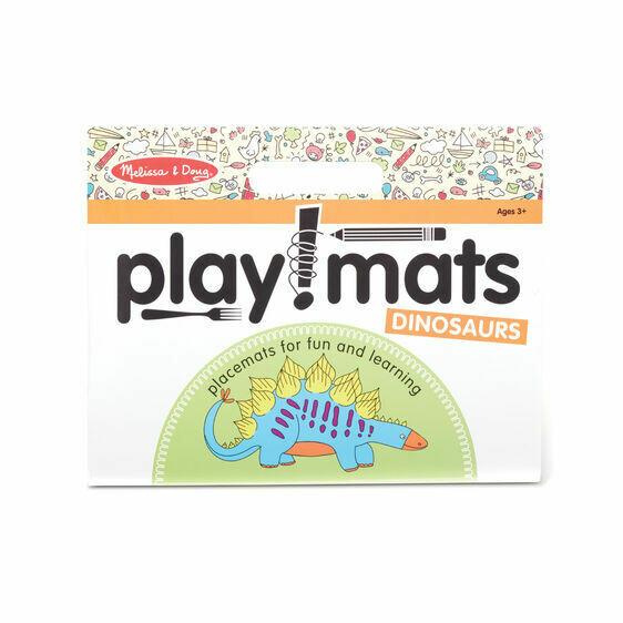 Melissa And Doug; Playmats - Dinosaurs