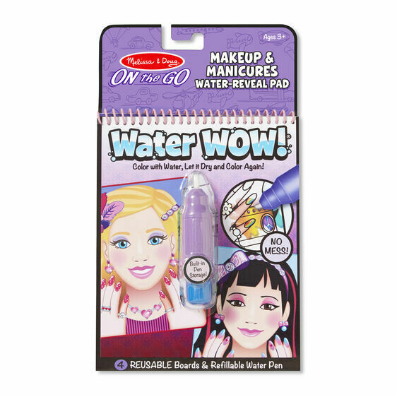 Melissa And Doug; Water Wow! - Makeup & Manicures