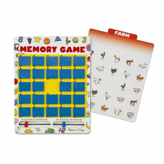 Melissa And Doug; Memory Game