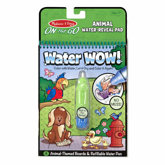 Melissa And Doug; Water Wow! - Animals