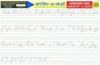 Melissa And Doug; Handwriting Write-A-Mat