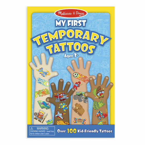 Melissa And Doug; My First Temporary Tattoos - Blue
